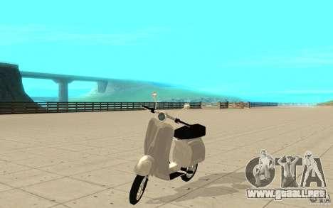 GTAIV EFLC Faggio Classic para GTA San Andreas