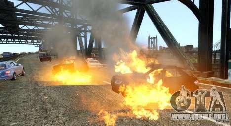 Explosion & Fire Tweak 1.0 para GTA 4 tercera pantalla