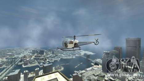 Sparrow para GTA 4 visión correcta