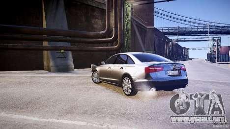 Audi A6 v1.0 para GTA 4 visión correcta