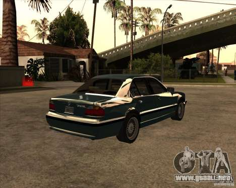 BMW 750iL para GTA San Andreas left