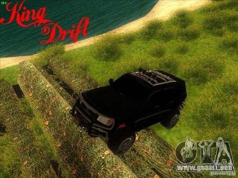 Toyota Land Cruiser v100 para la visión correcta GTA San Andreas