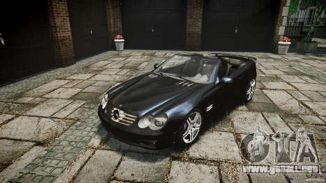 Mercedes Benz SL65 AMG para GTA 4 vista interior
