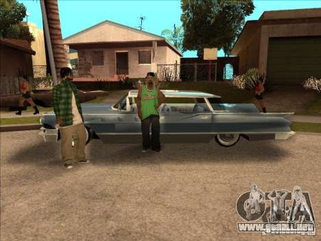 Buick Santiago para GTA San Andreas vista posterior izquierda