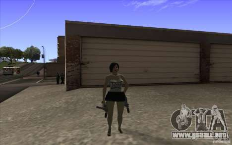 Kaileena big fan para GTA San Andreas