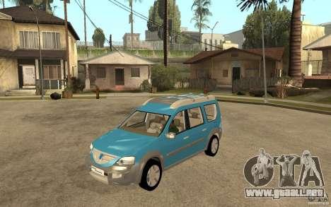Dacia Logan Steppe Concept para GTA San Andreas