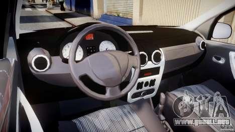 Dacia Logan v1.0 para GTA 4 visión correcta