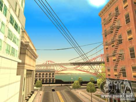 New Sky Vice City para GTA San Andreas quinta pantalla
