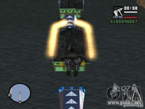 Night moto track para GTA San Andreas segunda pantalla
