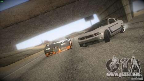 Bugatti Veyron Super Sport para el motor de GTA San Andreas