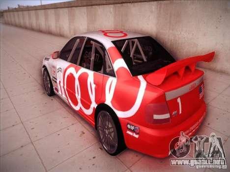 Audi S4 Galati Race para GTA San Andreas vista posterior izquierda
