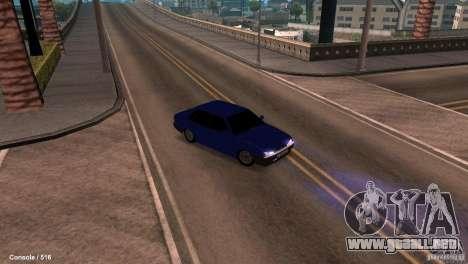 BAZ 21099 para visión interna GTA San Andreas