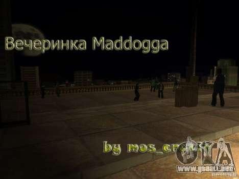 Fiesta Madd Doga para GTA San Andreas
