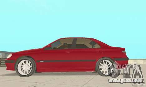 Peugeot 406 stock para GTA San Andreas left