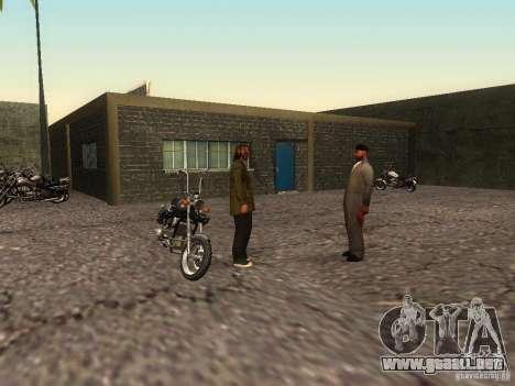 La escuela realista motociclistas v1.0 para GTA San Andreas sexta pantalla