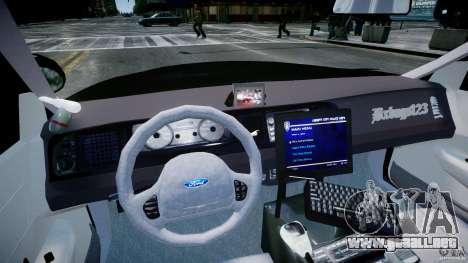 Ford Crown Victoria Fl Highway Patrol Units ELS para GTA 4 visión correcta