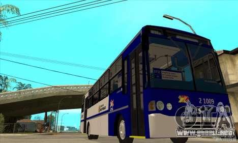 CAIO Alpha Mercedes-Benz OH-1420/51 Sao Paulo para GTA San Andreas vista hacia atrás