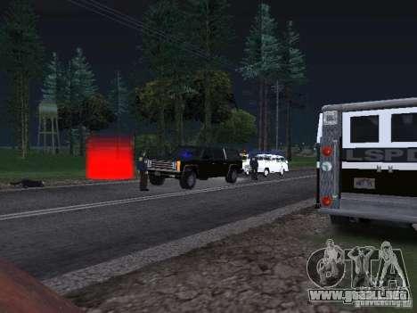 Police Post para GTA San Andreas tercera pantalla