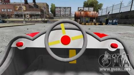Coche de parachoques para GTA 4 vista hacia atrás