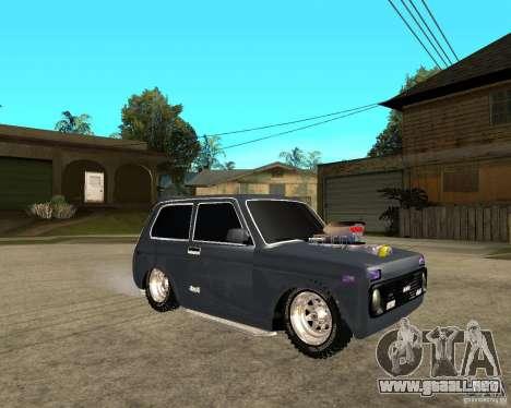 NIVA Mustang para la visión correcta GTA San Andreas