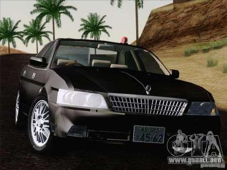 Nissan Laurel GC35 Kouki Unmarked Police Car para la visión correcta GTA San Andreas