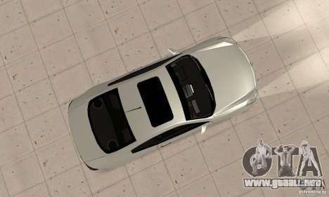 Nissan Skyline 350GT 2003 para la visión correcta GTA San Andreas