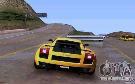 Lamborghini Gallardo Superleggera para visión interna GTA San Andreas