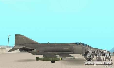 F-4E Phantom II para la visión correcta GTA San Andreas