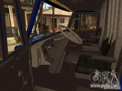 Camioneros KAMAZ 5460 2 para la visión correcta GTA San Andreas