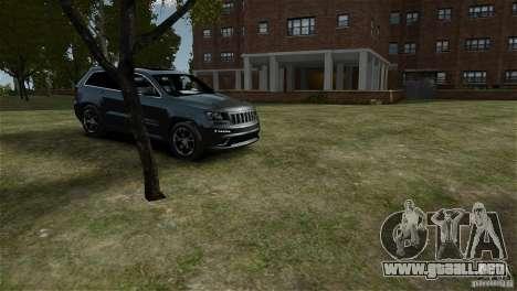 Jeep Grand Cherokee SRT8 para GTA 4 visión correcta