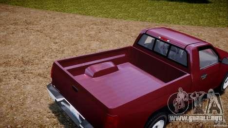 Chevrolet Colorado 2005 para GTA 4 vista interior