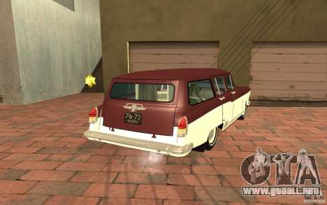 GAS 22 para GTA San Andreas left