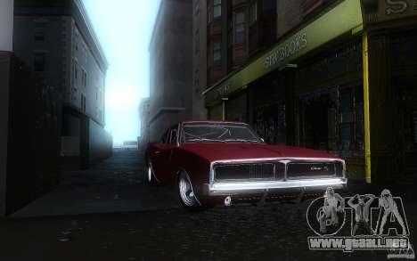 Dodge Charger RT 69 para visión interna GTA San Andreas
