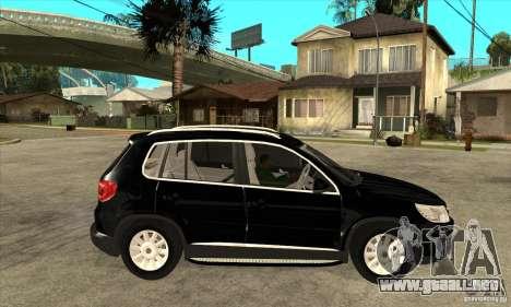 Volkswagen Tiguan 2.0 TDI 2012 para visión interna GTA San Andreas