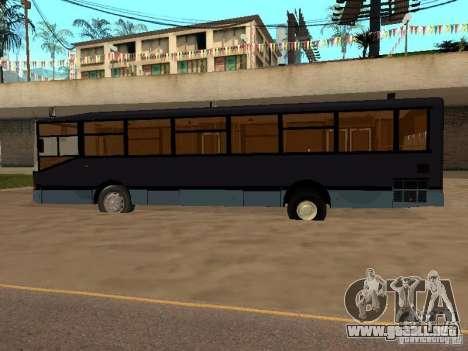 Volzhanin 5270 para GTA San Andreas vista hacia atrás