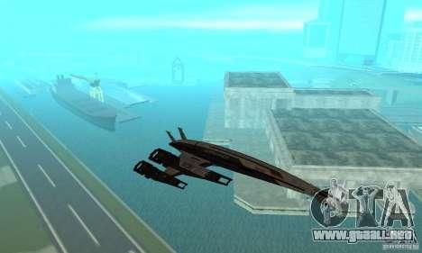 S.S.V. NORMANDY-SR 2 para visión interna GTA San Andreas