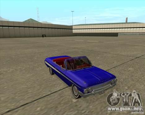Chevrolet Impala SS 1961 para visión interna GTA San Andreas