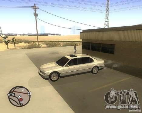 BMW 750il Limuzin para GTA San Andreas