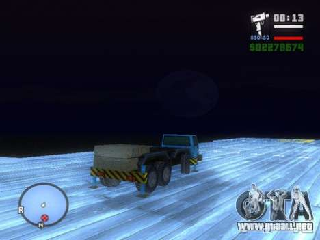 Split Second - Static Truck para la visión correcta GTA San Andreas