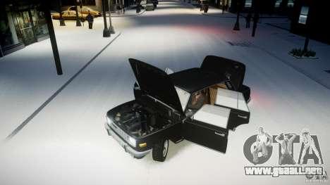 Wartburg 353 W Deluxe para GTA 4 vista hacia atrás