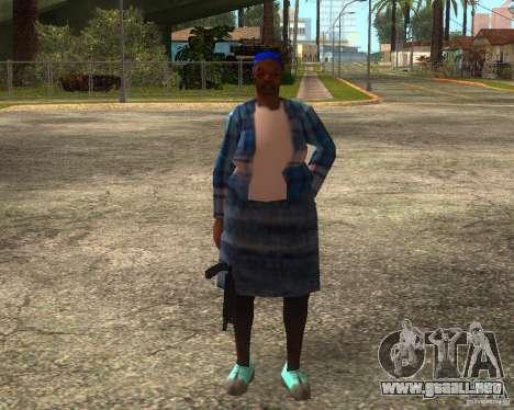 Gangsta Granny para GTA San Andreas sexta pantalla