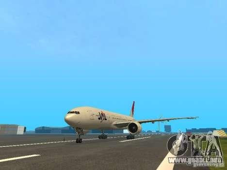 Boeing 777-200 Japan Airlines para GTA San Andreas