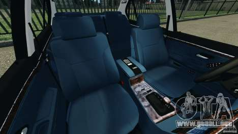BMW 750iL E38 1998 para GTA 4 vista interior