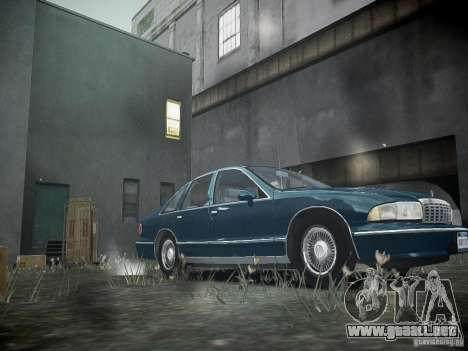Chevrolet Caprice 1993 Rims 2 para GTA 4 left