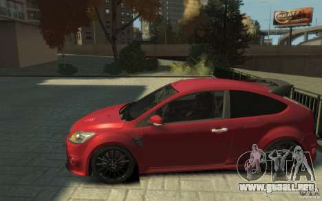 Ford Focus RS 2009 para GTA 4 left