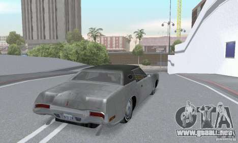 Lincoln Continental Mark IV 1972 para vista lateral GTA San Andreas