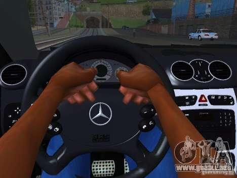 Mercedes-Benz CLK55 AMG para el motor de GTA San Andreas