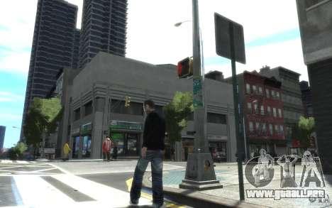 Los pantalones vaqueros y una camiseta para Nico para GTA 4 segundos de pantalla