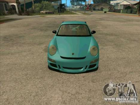 Porsche 997 GT3 RS para la visión correcta GTA San Andreas