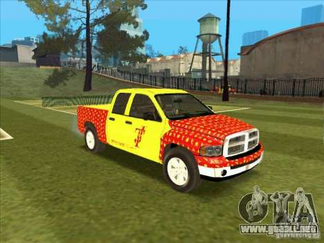 Tej Dodge RAM 2 Fast 2 Furious para GTA San Andreas left